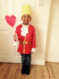 King Of Hearts Boys Costume